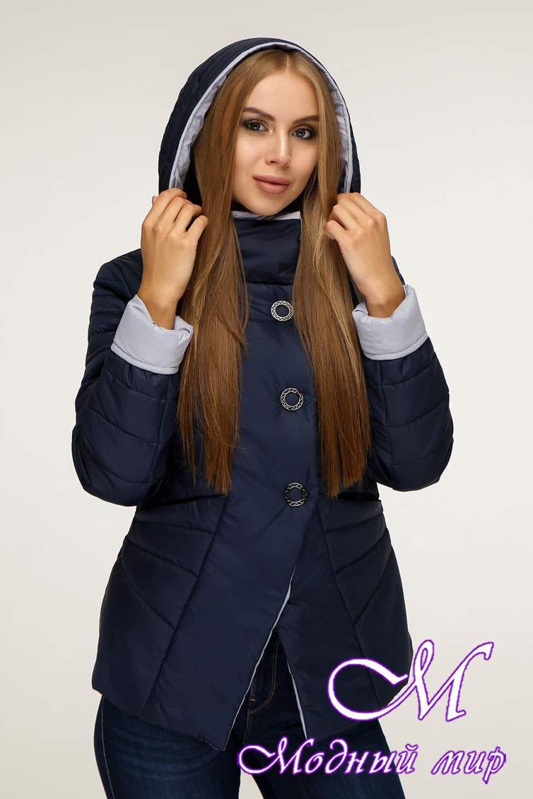 Женская стильная куртка демисезонная (р. 44-54) арт. 1196 Тон 19