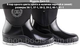 Женские ботики на ззамку теплые оптом. 36-41рр. Модель ботик даго G3