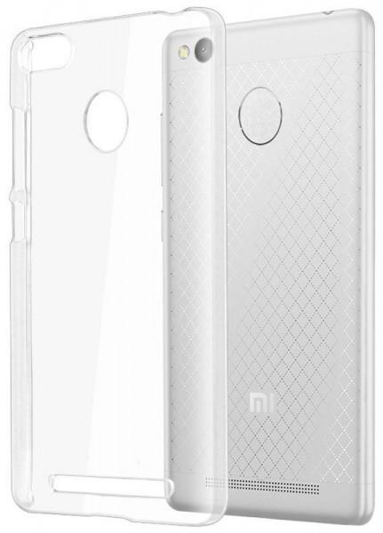 STD 0,3 mm силиконовая накладка для Xiaomi Redmi 3S Сlear (тонкая, прозрачная)