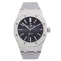 Годинник наручний Audemars Piguet Royal Oak Silver-Black 0788