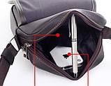 Мужская сумка. Сумка через плечо. Молодёжные сумки. Небольшая мужская сумка. Мужские сумки., фото 4