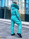 Подростковый зимний комбинезон горнолыжный с капюшоном и мехом 31gk35, фото 4