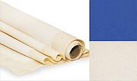 Полотно грунтоване, 2,2*3 м, дрібне зерно, ультрамарин, бавовна, ROSA Gallery