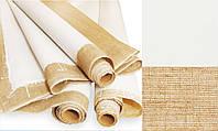 Холст грунтованный в рулоне, Мелкое зерно, 1,5*10м,(цена за 1п/м) акрил, 300 г/м², лён, ROSA