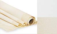 Холст грунтованный,  1,5*10м, среднее зерно, 380 г/м², хлопок, ROSA Gallery