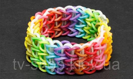 Резиночки для плетения браслетов с запахом Loom Bands Colorful