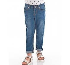 Демисезонные детские джинсы для девочки BRUMS Италия 151BGBF001 Голубой
