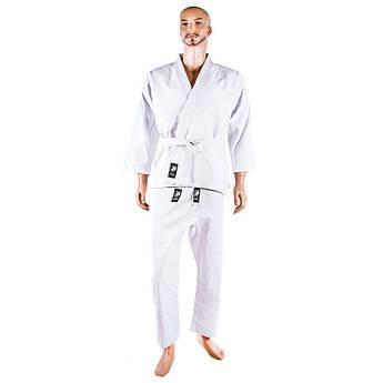 Кімоно дзюдо Combat, біле, 8oz, 190 см..