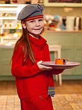 Комплект шапка+шарф для девочки BRUMS Италия 163BGLD001