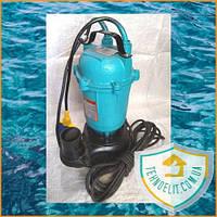 Фекальный насос Delta WQD1-1.1. Дренажный насос. Насос для откачки. Насос для канализации.