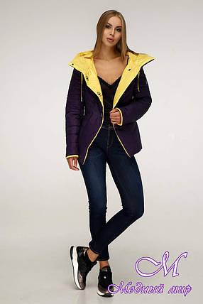 Модная демисезонная куртка женская (р. 44-54) арт. 1196 Тон 33, фото 2