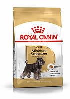 Royal Canin Miniature Schnauzer 7,5 кг для взрослых миниатюрных шнауцеров