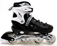 Роликовые коньки Scale Sports 34-37 Black (2069914823-M), фото 1