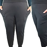 """Спортивные штаны женские на манжетах размеры 44-52 (3 цв.)""""FIESTA"""" купить недорого от прямого поставщика"""