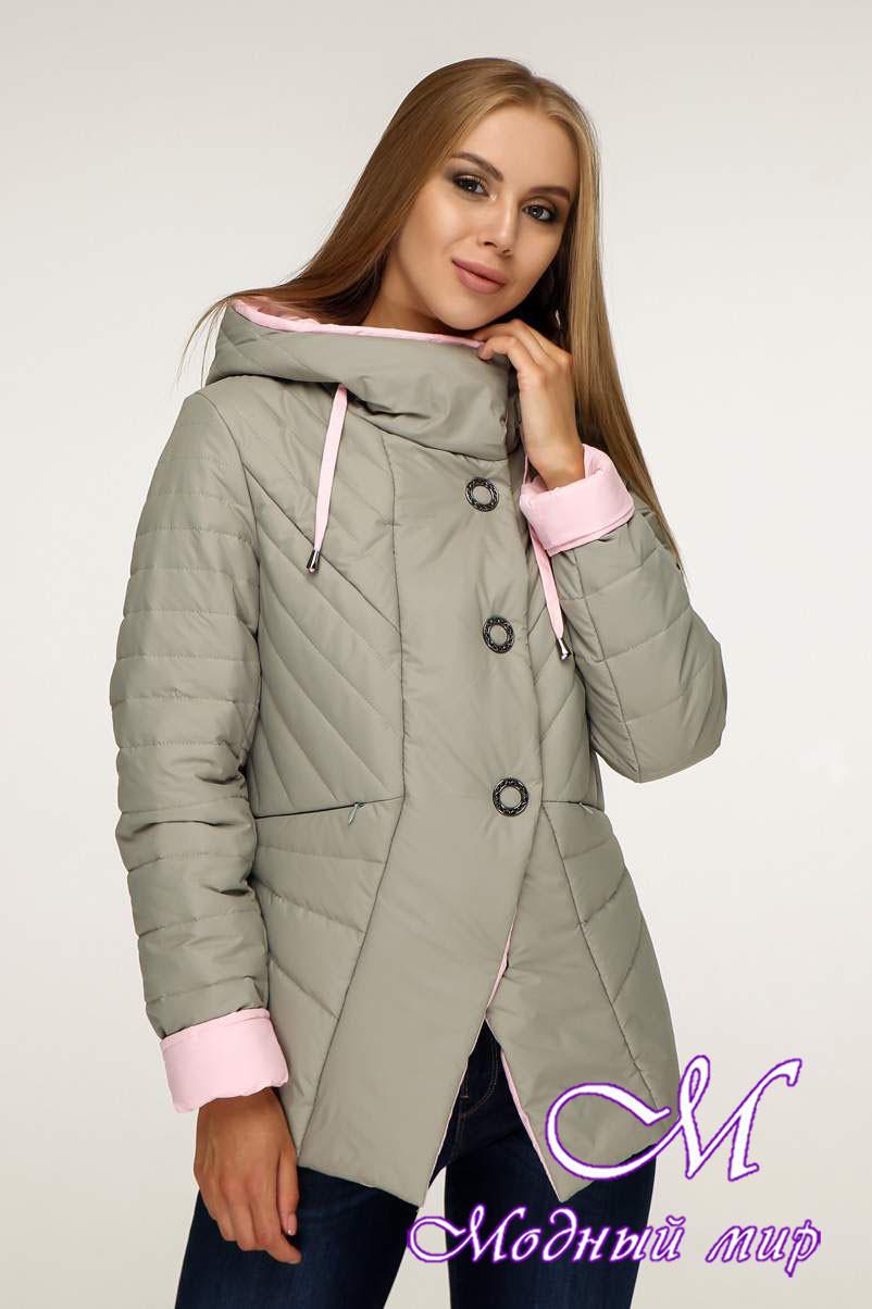Женская модная куртка демисезонная (р. 44-54) арт. 1196 Тон 59