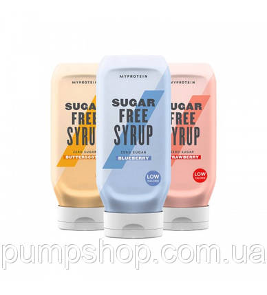 Низькокалорійний сироп MyProtein Sugar Free Syrup 400 мл (різні смаки), фото 2