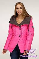 Демисезонная модная куртка женская (р. 44-54) арт. 1196 Тон 111