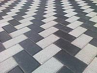 Тротуарная плитка вибропрессованная Кирпичик, 4 см,  Харьков
