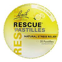 Bach Rescue pastilles Пастилки Bach натуральное средство от стресса, 50г вкус лимона