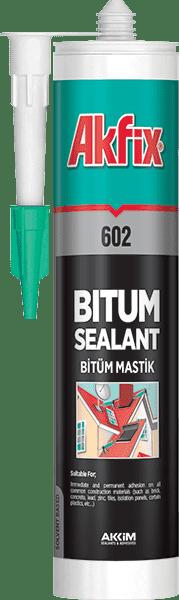 Герметик битумный-каучуковый (кровельный) AKFIX 602 310 мл
