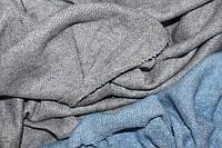 Ангора мягкая, фактурная вязка, нежная воздушная ,цвет серый светлый, пог. м. № 281, фото 1