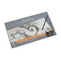 """Набор карандашей для рисунка """"Teacher's choice"""", 27 предметов., мет. коробка, Cretacolor"""
