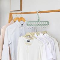 Плечики-органайзер для одежды Wonder Hanger Magic Hanger Clothes ( Чудо-вешалка ) 2 шт в наборе