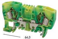 Клемма заземления пружинная YBK 6 T