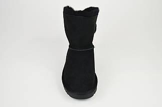 Угги черные замшевые Prima 2608, фото 3