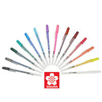 Ручка гелевая, GLAZE 3D-ROLLER, Красный, Sakura