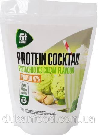 """Коктейль белковый Fit Active с L-карнитином и гуараной """"Фисташковое мороженое"""""""