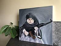 "Картина маслом на холсте ""Армянская бабушка"""