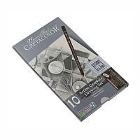 Набор графитных карндашей Artino Graphite, 10шт., мет. упаковка, Cretacolor