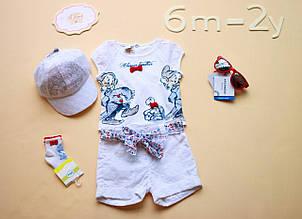 Детские шорты для девочки Одежда для девочек 0-2 BRUMS Италия 132BEBL001