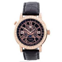 🔲 Patek Philippe Grand Complications 6002 Sky Moon Black-Gold-Black 1019-0075