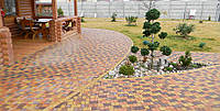Тротуарная плитка вибропрессованная Львовский камень, 4 см Харьков