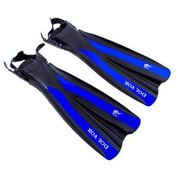 Ласти для дайвінгу Dolvor F31 S/M, синій