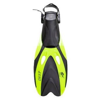 Ласты для плавания  Dolvor F66 Deep L(43-46) лимон.