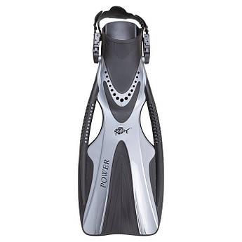 Ласти для плавання Dolvor F81 POWER, L/XL срібло.