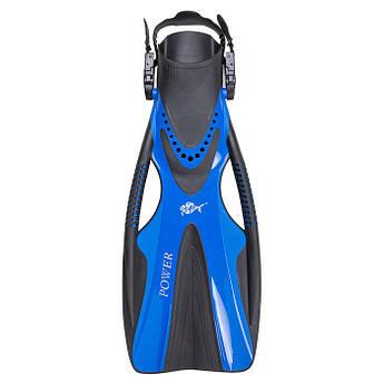 Ласты для  плавания  Dolvor F81 POWER, L/XL синий.