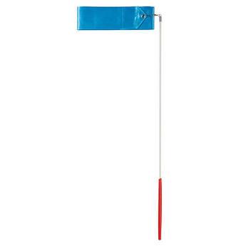 Стрічка гімнастична 4м, бірюзова