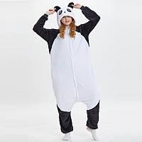 Пижама Кигуруми Панда белая микрофибра