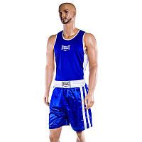 Майка,трусы боксерские Everlast, синий, размер  L..