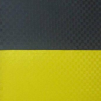 "Мат""ласточкин хвост"" 1м x 1м x 3 см, желто-черный.."
