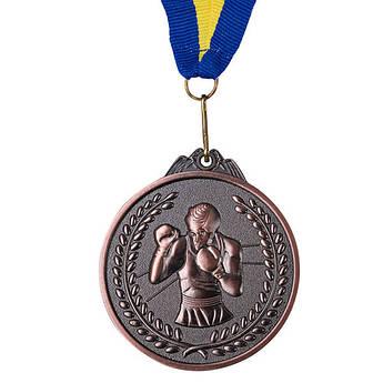 Нагородна Медаль, d=65 мм, бронза, бокс.