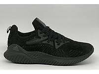 Кроссовки мужские Adidas Bounce 293-1 черные реплика