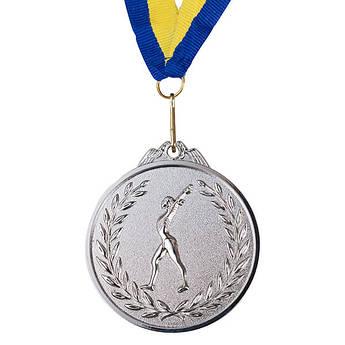 Нагородна Медаль, d=65 мм, срібло, гімнастика.