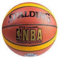 Мяч баскетбольный Spald PVC7 WideChannel King. №7