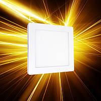 Накладной светильник 120х120 6W IP20, фото 1