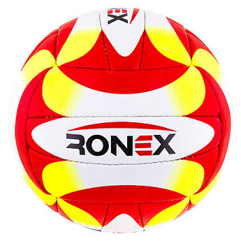 Мяч волейбол Ronex Orignal Grippy  Red/Yel/Black